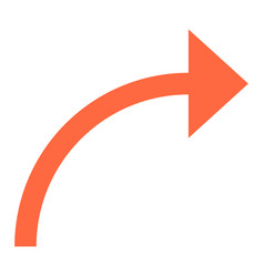 Arrow sign undo left right down up icon vector