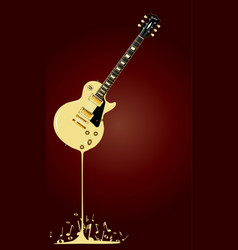 liquid music vector image