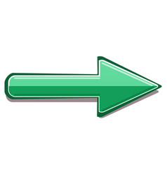 image of colored 3d arrows vector image