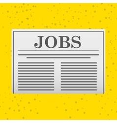 Job search design vector