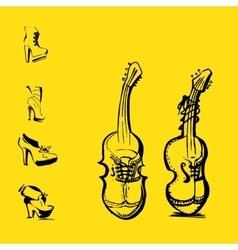 Women Heels vector image vector image