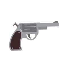 Gun armed forces military icon graphic vector