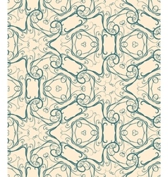 Retro decorative seamless pattern endless vector