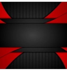 Dark red tech corporate abstract background vector