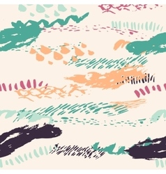 boho seamless pattern with bold lines in vector image vector image