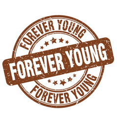 Forever young vector