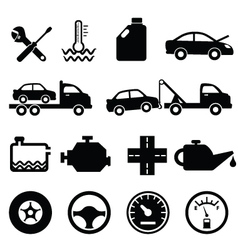 Mechanic workshop vector image