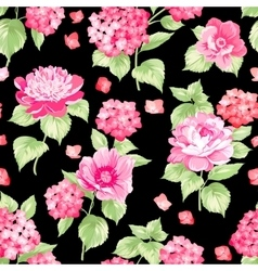 The Flower pattern vector image vector image