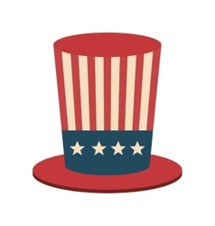 Usa hat accessory vector