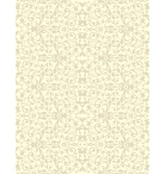 Natural linen striped vector image vector image