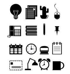 Office icons desgin vector