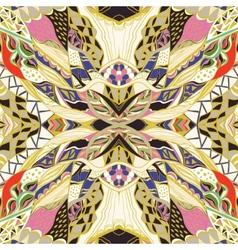 Traditional ornamental paisley bandanna hand vector