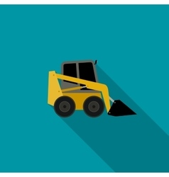 Loader flat icon vector
