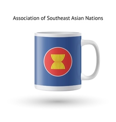 Association of southeast asian nations flag vector
