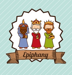 epiphany design vector image