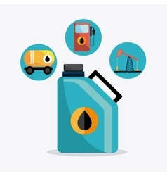 Petroleum industry design vector