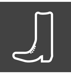 Cowboy Boot vector image