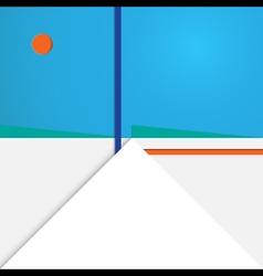 Background modern material geometric design vector