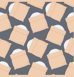 Rice sack seamless pattern vector