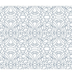 Seamless floral pattern Composition of stylized vector image vector image