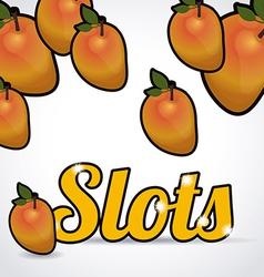 Slots design vector