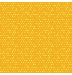 Orange and yellow dotted seamless pattern vector