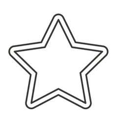 Star favorite symbol isolated icon vector