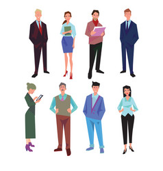 Business people office vector