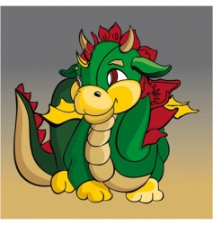 Dragon design vector
