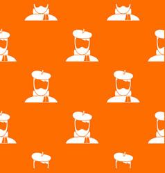 artist pattern seamless vector image