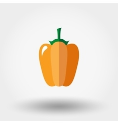Paprika icon Flat vector image