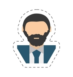 people businessman icon image vector image vector image