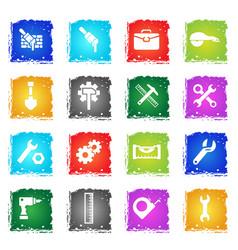 Work tools icon set vector