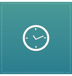 Watch flat icon vector