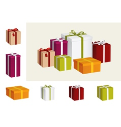 Gift collection vector