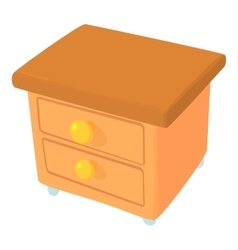 Commode icon cartoon style vector