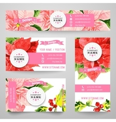 Set of corporate identity templates with beauty vector