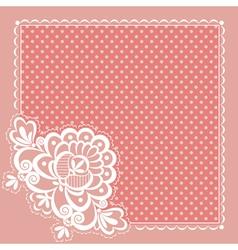 square napkin vector image