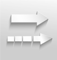 Two arrows vector