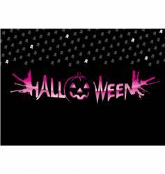 graffiti Halloween vector image vector image