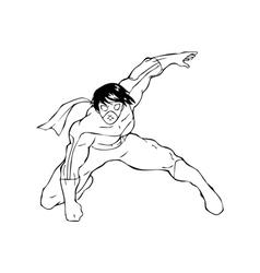Superhero vector