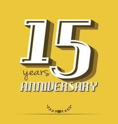 10 year an8 vector image