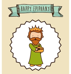 Epiphany design vector