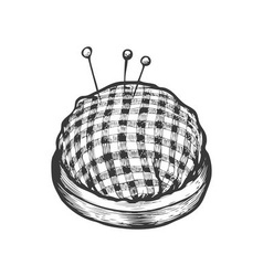 Pin cushion vector