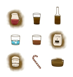 Coffee icon3 vector