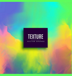colorful watercolor paint texture effect vector image vector image
