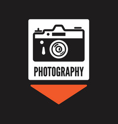 Photography logos badges and labels design vector