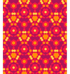 Red orange yellow color abstract geometric vector