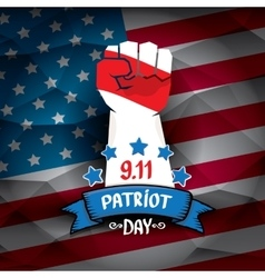 Patriot day usa background vector