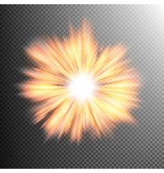 Light effect stars bursts eps 10 vector